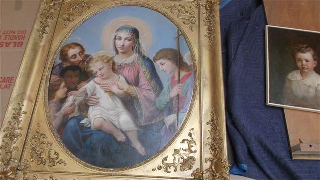 19th Century Oil Painting Restoration